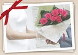 結婚式の花束に添えてにおすすめの年号ワイン