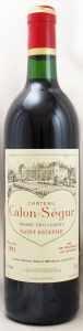 1991 シャトー カロン セギュール(赤ワイン