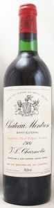 1981 シャトー モンローズ(赤ワイン