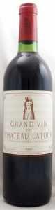 1980 シャトー ラトゥール(赤ワイン)