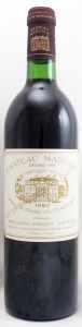 1980 シャトー マルゴー(赤ワイン)