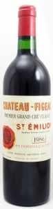 1986 シャトー フィジャック(赤ワイン