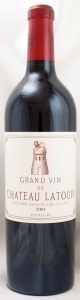 2001 シャトー ラトゥール(赤ワイン