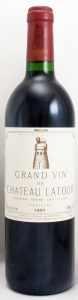 1991 シャトー ラトゥール(赤ワイン