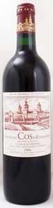 1986 シャトー コス デストゥルネル(赤ワイン