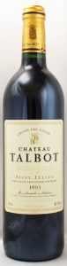 1995 シャトー タルボ(赤ワイン