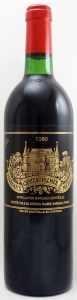 1980 シャトー パルメ(赤ワイン