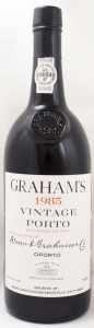1985 グラハム ヴィンテージ ポート(赤ワイン)