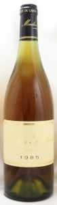 1985 コトー デュ レイヨン(白ワイン)