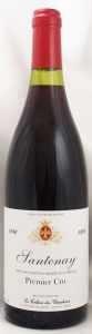 1996 サントネー プルミエ クリュ(赤ワイン