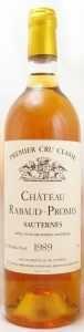 1989 シャトー ラボー プロミ(白ワイン)