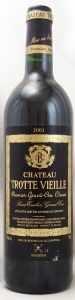 2001 シャトー トロット ヴィエイユ(赤ワイン)