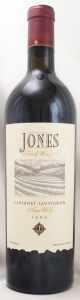 1996 ジョーンズ ファミリー ヴィンヤーズ カベルネ ソーヴィニヨン(赤ワイン