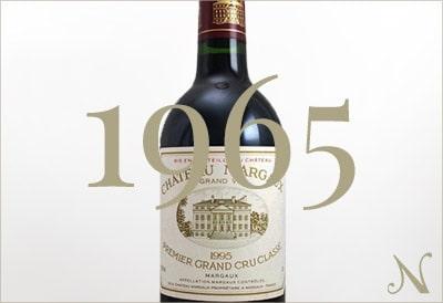 1965年のワイン